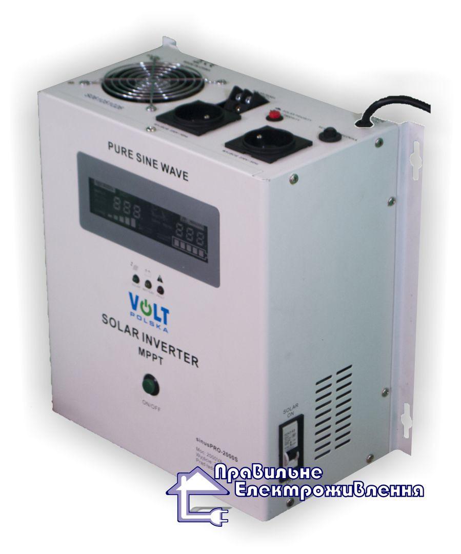 Інвертор + Контролер заряду SOLAR INVERTER MPPT 2000VA