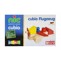 Конструктор nic cubio деревянный Самолет (NIC2132)