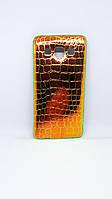 Чехол силиконовый Хамелеон для Samsung A3 (2015), Gold