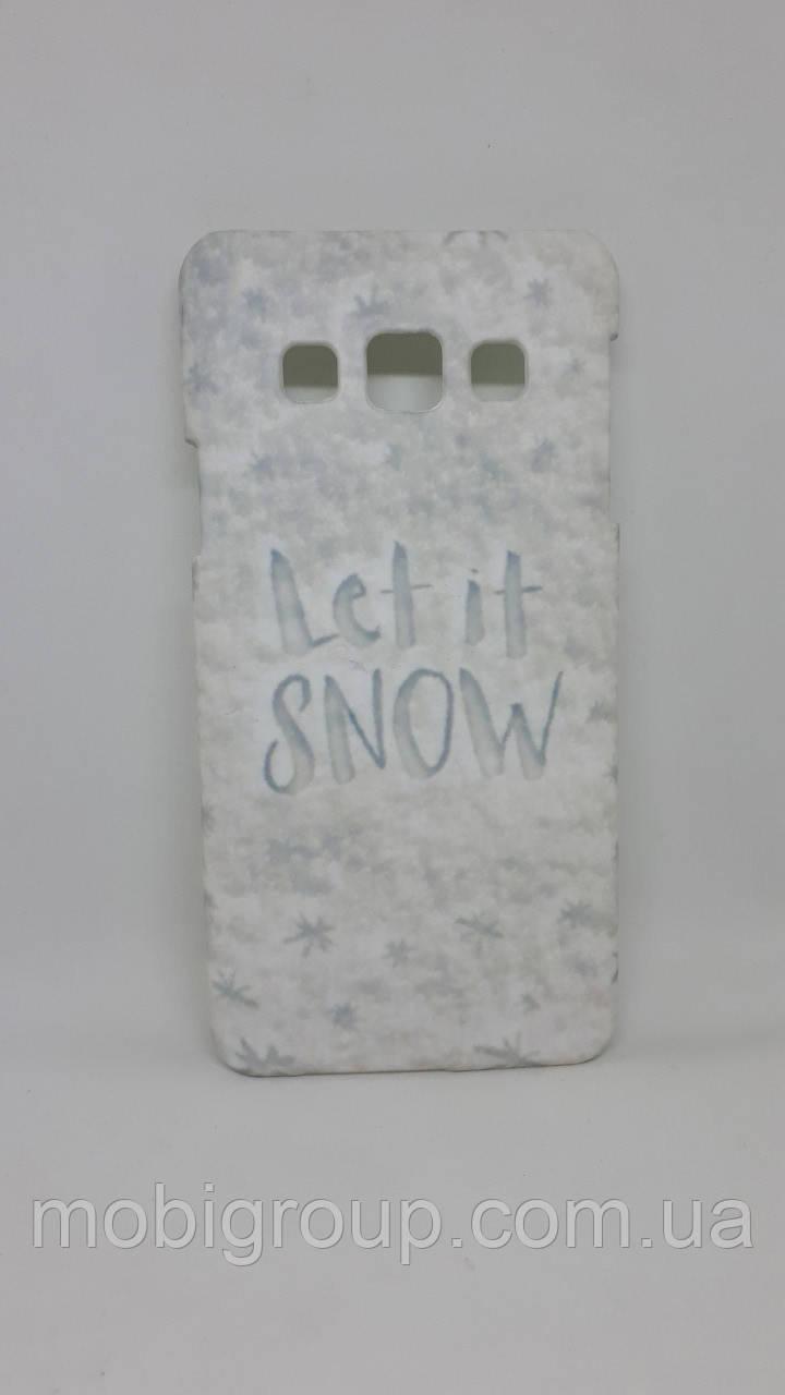 Чехол пластиковый для Samsung A3 (2015), White