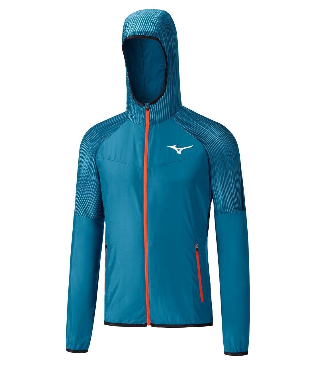 Куртка для бега Mizuno Printed Hoodie Jacket K2GE8510-12