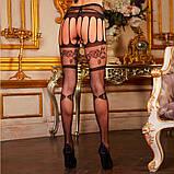 Уникальные кружевные чулки на подвязках, фото 3
