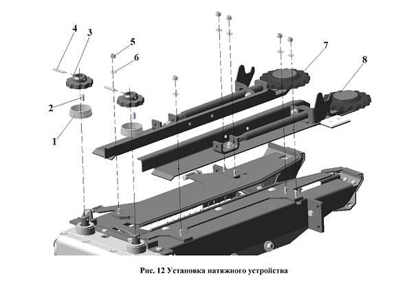 Установка натяжного устройства, фото 2