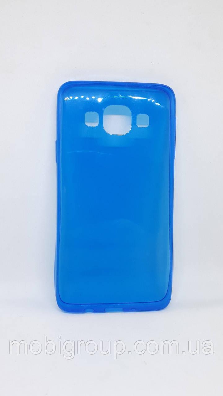 Силиконовый чехол 0,3 мм для Samsung А3 (2015), Blue