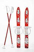 Набір лижний дитячий MARMAT 70 см. (лижі + кріплення+ палки) 4fd20964253b8
