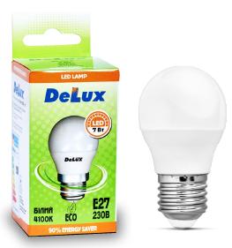 Светодиодная лампа DELUX BL50P 7 Вт E27 холодный белый, фото 2