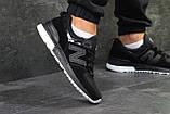 Мужские кроссовки New Balance 574 Black (44 последний размер), фото 5