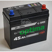 Аккумулятор Sada Optima 6CT-45Аз JP