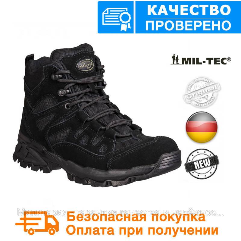 """Ботинки армейские тактические trooper 5"""" black, оригинал 12824002"""