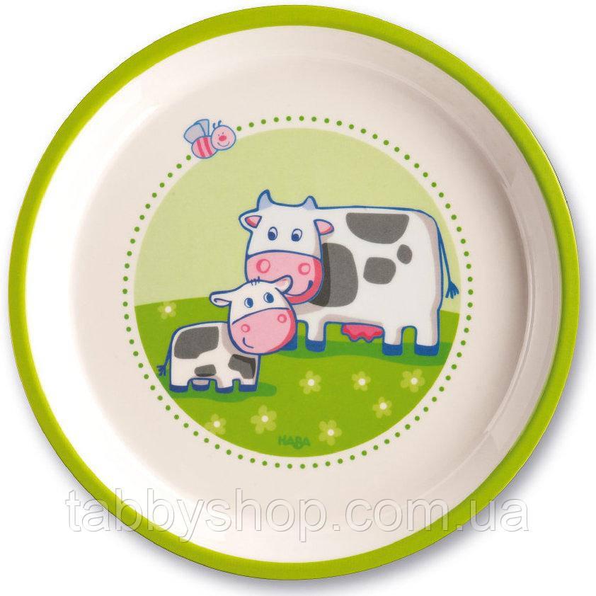 Тарелка плоская HABA Ферма