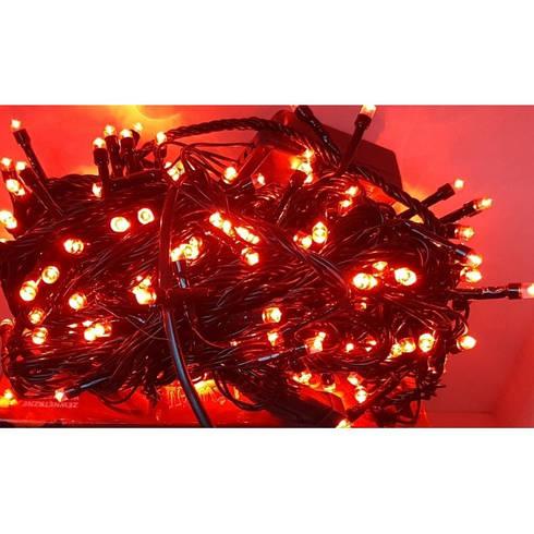 Гирлянда на 500 LED красная