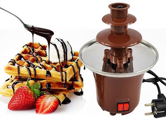 Шоколадный фонтан для фондю Chocolate Fountain, фондюшница