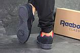 Мужские кроссовки Reebok Classic синие (44 размер последняя пара), фото 5