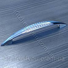 Мебельная ручка MAR 6114 096 мм. хром.