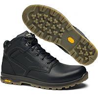 Термо ботинки мужские Grisport vibram 12949v9 (кожаные, осень-зима, непромокаемые, мембрана, бренд гриспорт)