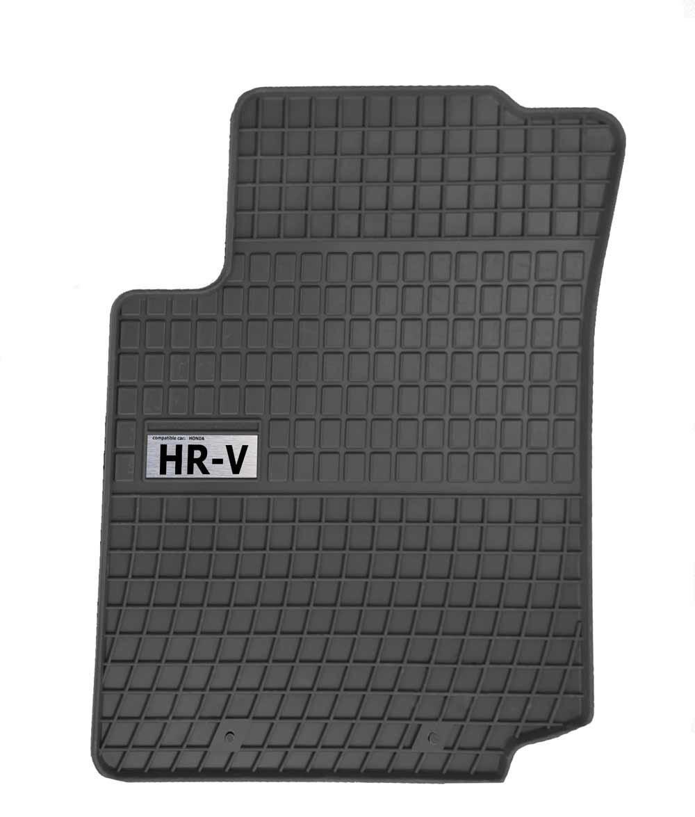 Резиновые коврики HONDA HRV HR-V 3d 1999-  с лого