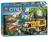 """Конструктор Bela 10711 """"Передвижная лаборатория в джунглях"""" (аналог Lego City 60160), 465 дет , фото 1"""