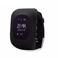 Детские умные часы UWATCH SMART Q50 BLACK с GPS, фото 1