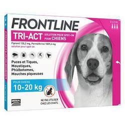 Крап. Merial Frontline Tri-Act Меріал Фронтлайн Три-Акт для собак від комарів і кліщів 10-20кг