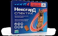 Таблетки Merial Nexgard Spectrum Меріал Нексгард Спектра від бліх і глистів для собак 30-60кг