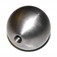 Нержавеющий шар с внутренней резьбой, матовый