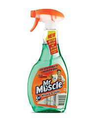 Жидкость для мытья стёкл Мистер Мускул с распылителем 500мл