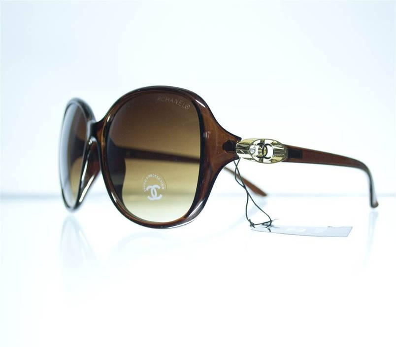 Жіночі сонцезахисні окуляри - Коричневі - 8280, фото 2
