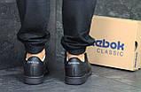 Мужские кроссовки Reebok Classic Black, фото 3