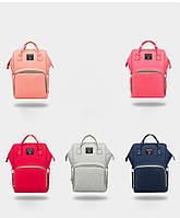 Рюкзак-органайзер для мам и детских принадлежностей голубой