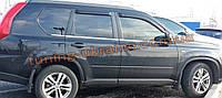 Хром накладки на стойки для Nissan X-Trail T31 2007-2014
