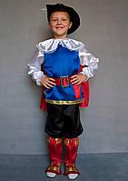 Детский карнавальный костюм Кот в сапогах, фото 1