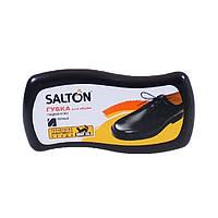 Губка волна для обуви из гладкой кожи «Salton» Черная