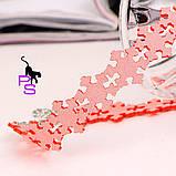 """Нежнейший розовый чокер """"Снежинка""""9870 с застежкой, фото 4"""