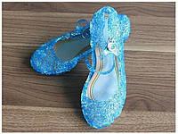 Туфли Босоножки Эльзы  Холодное Сердце  Светятся каблучки/ Frozen, Disney, фото 1