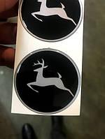 Эмблема на руль трактора John Deere, фото 1