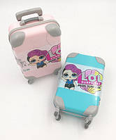 """Кукла  L.O.L. ( ЛОЛ ) чемодан - сюрприз  """" LOL Glitter  """" 14 см. ( 18 серия )"""
