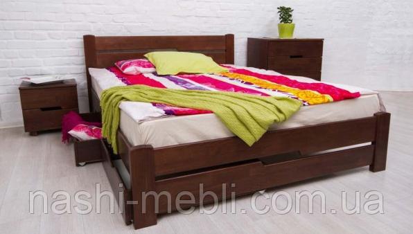 Ліжко АЙРІС з висувними ящиками Олімп