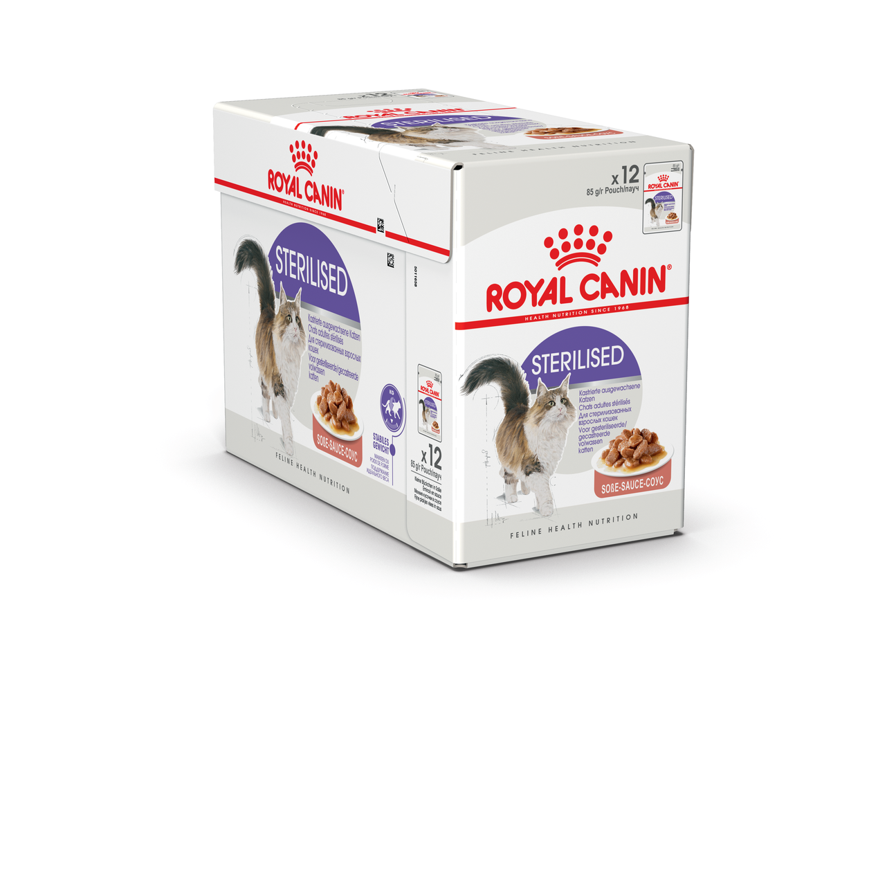 Royal Canin Sterilised в соусі 85г*12шт - паучи для стерилізованих кішок старше 1 року