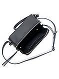 Клатч черный кожаный 6692-11, фото 3