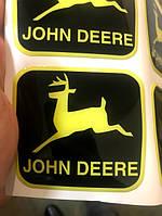 Эмблема на  трактора и комбайны John Deere, фото 1