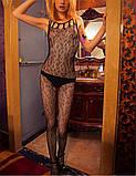 """Интимный обворожительный кружевной боди комбез комбидресс Bodystocking Бодистокинг """"Вероника""""1141, фото 4"""