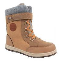 Зимние термо ботинки B G для девочки бежевого цвета 72e2c0611b68d