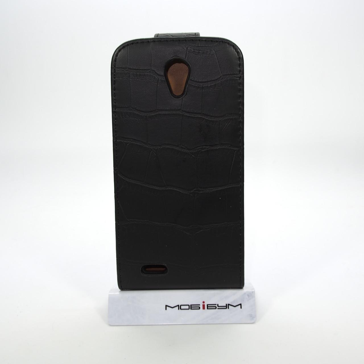 Чехлы для других смартфонов Croco Lenovo S820 black Для телефона