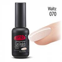Гель-лак PNB №70 Waltz 8 мл., фото 1