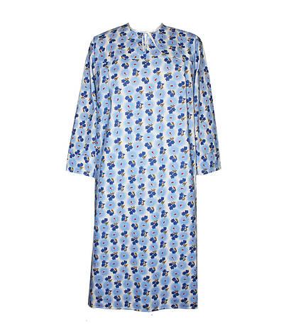 Ночная рубашка женская теплая разм. 52, фото 2