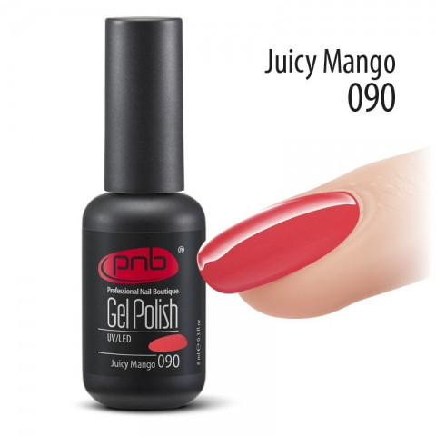 Гель-лак PNB №90 Juicy Mango 8 мл.