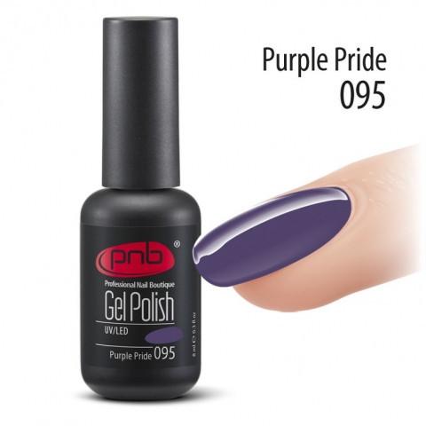Гель-лак PNB №95 Purple Pride 8 мл.