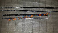 Хром накладки на стекло молдинг стекла омса для Nissan Qashqai 2008-2014