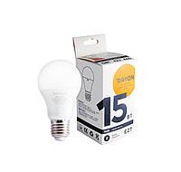 Светодиодная лампа DAYON EMT1707 A65 15W 3000K E27, КОД: 146550