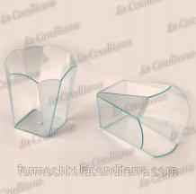 Стакан фигурный прозрачный «Sfizio Smeraldo» (60 мл)